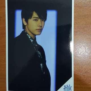 Super junior post card from Elf Japan Club