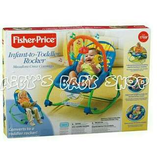 New fisher price rocker pink only