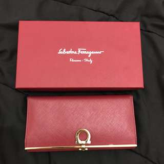 Salvatore Ferragamo Wallet Authentic
