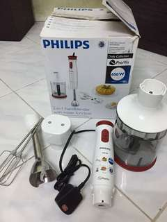 Philips Hand blender with mixer