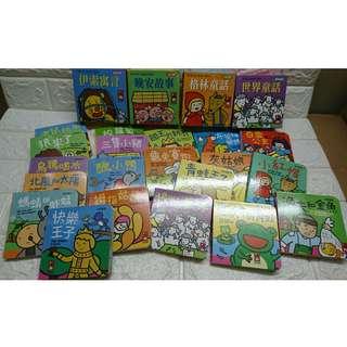 大受歡迎  幼幼撕不破小小書-經典故事組 平均$8.3一本  現貨 台灣童書