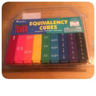 BN Learning Resources Fraction Tower Equivalency Cubes