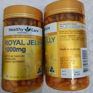 HEALTHY CARE ROYAL JELLY 1000mg