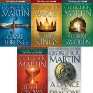 (eBook) A Song of Ice & Fire - 5 titles