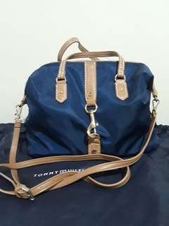 Tommy Hilfiger large nylon sling bag