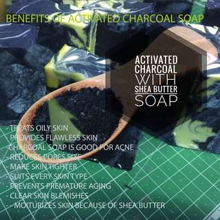 Aimer sekken Activated charcoal soap (75g)