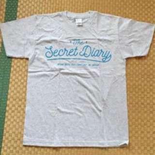 BTOB Secret  diary concert Official T-shirt