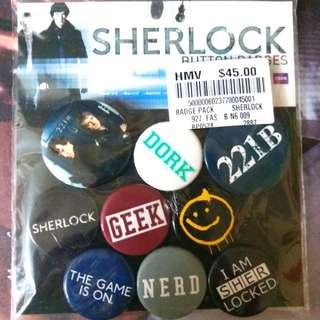 HMV Sherlock Holmes襟章