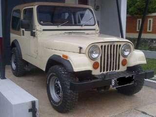 Jual Jeep CJ7 thn 81 Laredo