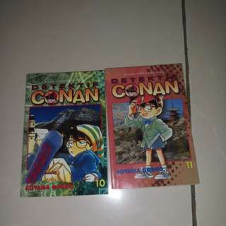 [Komik bekas] detective conan. Volume 10-11