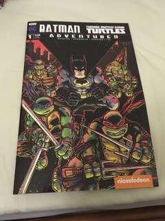 Batman teenage mutant ninja turtles adventures 1