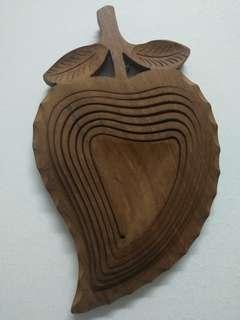 leaf wood