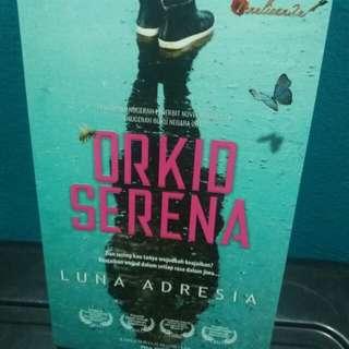 Novel Melayu Orkid Elena - Luna Adresia