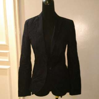Folded and Hung Blazer