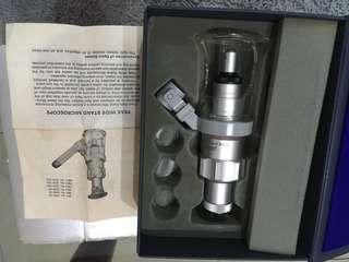 Peak wide stand microscope