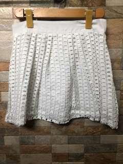 Penshoppe White Skirt