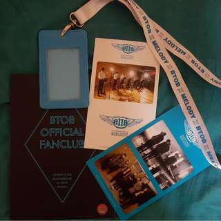 BTOB First official Melody Photobook & Goodies