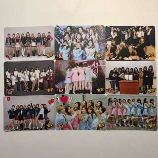 Twice Yes! Card 專輯卡 part1 #T028-036