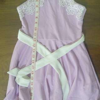 Girl's Elegant Lavender Dress free delivery within MM