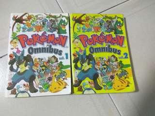 Pokémon Omnibus vol 1 & 2