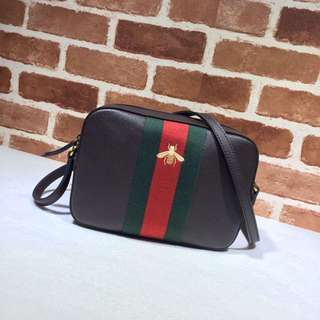Gucci sugnature crossbody camera bag