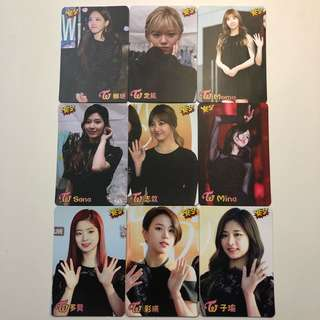 Twice Yes! Card 專輯卡 part1 #T037-045