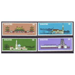 Singapore 1978 SC 299-302 Monument  Set of 4, Mint Not hinged,