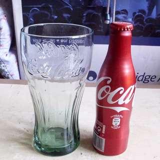 可口可樂90年代外國版可樂凸字杯