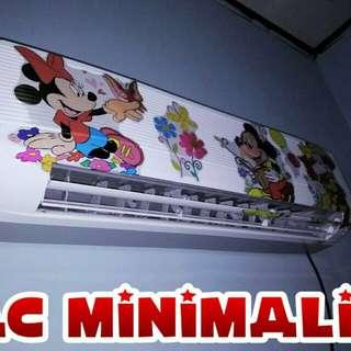 Ac Minimalis Kristal gel hanya 17watt