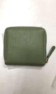🚚 可愛實用綠色小錢包