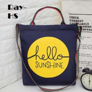 Ray-HS Canvas Tote Bag.