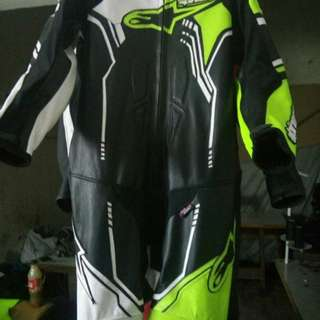 Alpianster Replica Motorbike Leather Racing Suit