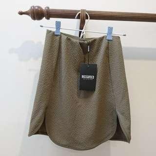 Missguided khaki skirt