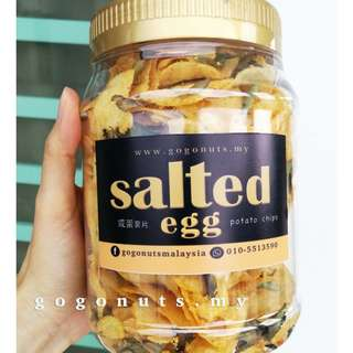 Salted Egg POTATO CHIPS 300g