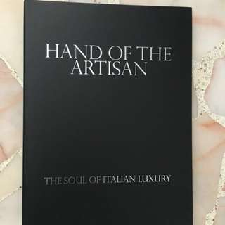 Hand of the Artisan Coffee Table Book