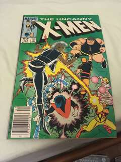 Uncanny x-men 178 (damaged)
