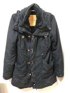 🚚 SLY N3B 黑色長版大衣