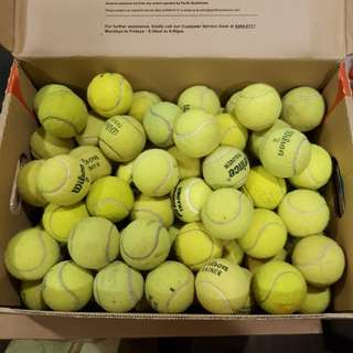 Used tennis ball for sales