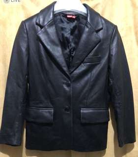 Esprit Leather Blazer