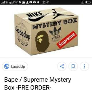 Bape mystery box