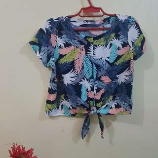Glamour Printed Top