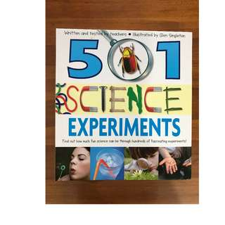 501 Science Experiments - Written and Tested by Teachers