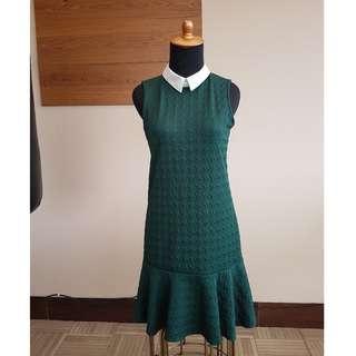 Green Fishtail Dress