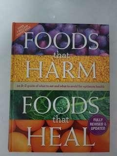 Foods that harm/ Foods that heal