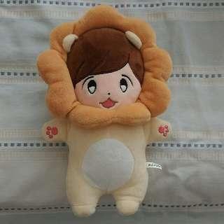 exo baby Lion 寶貝獅 玩偶 / 公仔 (伯賢 / baekhyun)