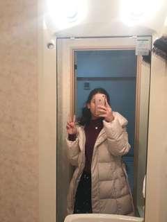 Beige Winter Coat