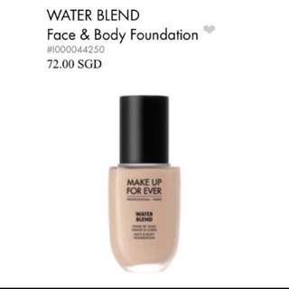 Make Up Forever Water Blend Foundation Shade R250