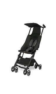 GB pockit stroller black Brand Preorder Lightweight Stroller