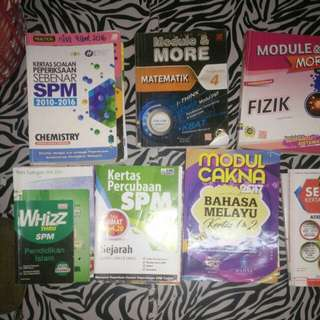 SPM Reference/Exercise Books