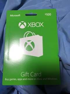 $100 Microsoft gift card
